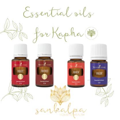 Essential Oils for Kapha